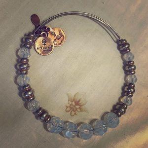 Beaded ALEX & ANI Bracelet w/  Swarovski Crystals
